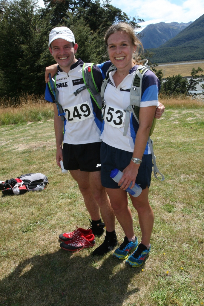 Avalanche peak Champions 2013! Lara and myself after the race