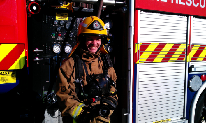 Preparation for the Skytower Firefighters Stair Climb 2013