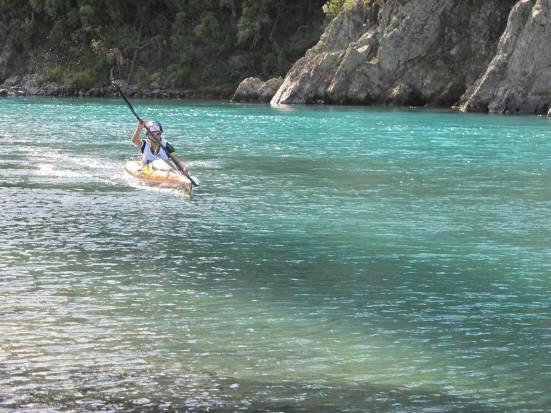 End of the Kayak...Finally!! (Credit: Liz May)