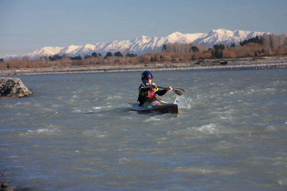 Brass Monkey Kayaking on the Waimak (Credit: Colin Pearson)