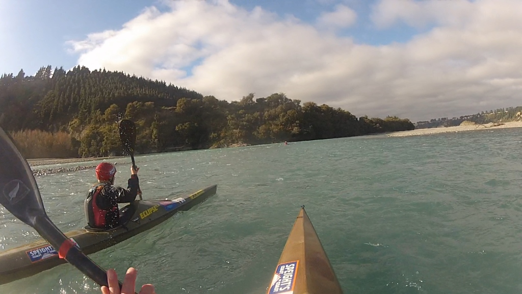 Paddling from Woodstock to the Gorge bridge
