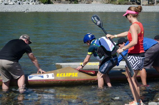 Into the kayak