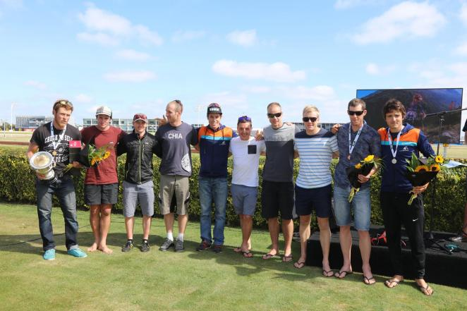The top ten open men... might be just about the same height as Sam Manson!