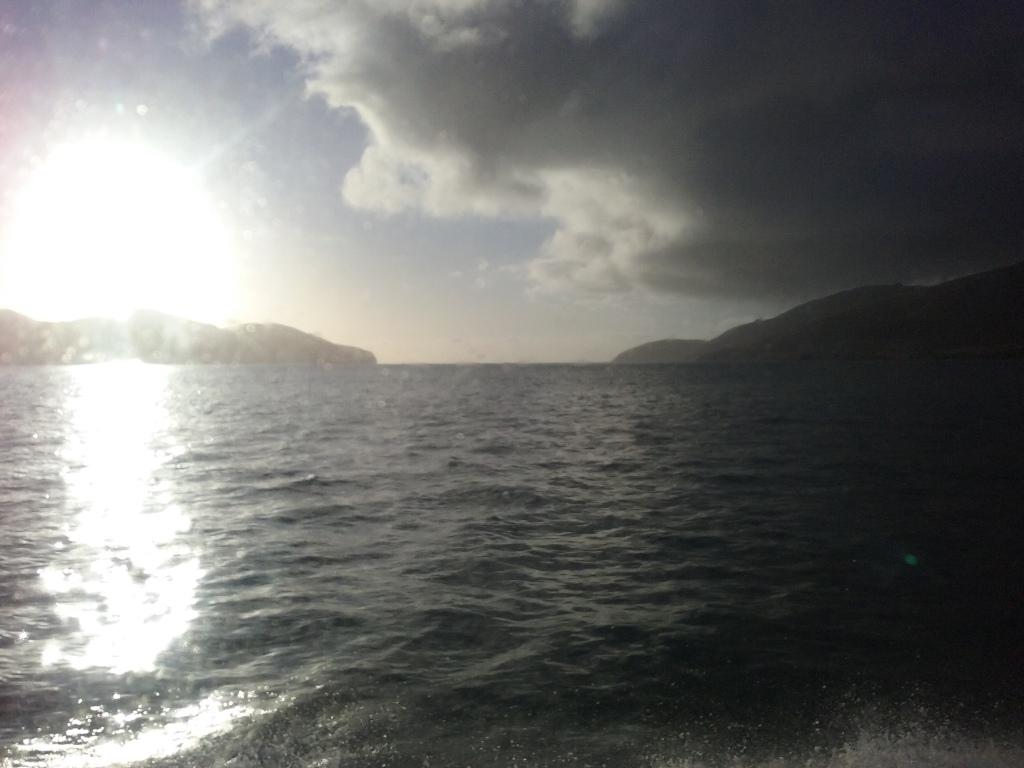 Cruising on the Diamond Harbour Ferry