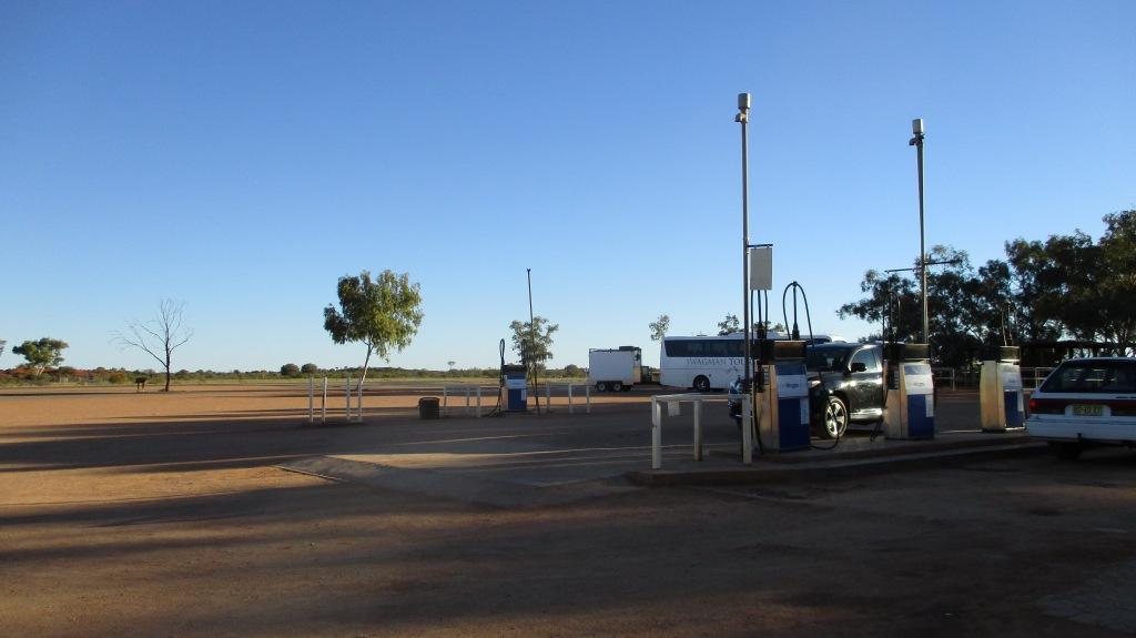 Desolate Roadside stop
