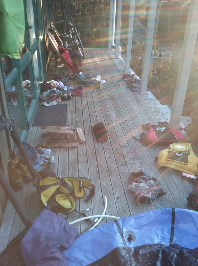 Gear explosion after and action packed activity day