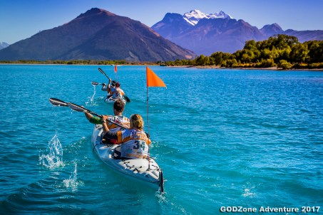 Kayaking to Glenorchy