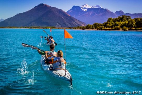 Kayaking to Glenorchy