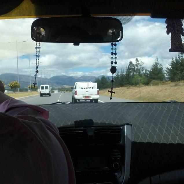 """Taxi, follow that Truck"""
