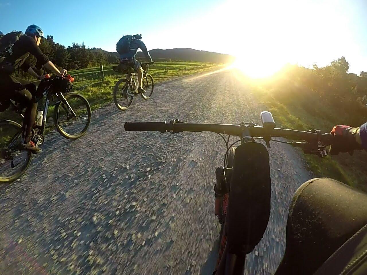 Riding around Kahurangi NationalPark