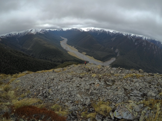 Coming down into the Cox river
