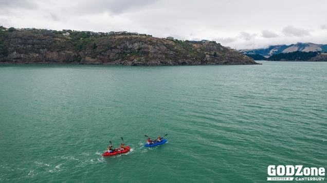 Cruising across the Harbour