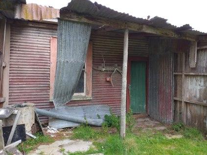 Old Sprey Farm house on the 12 hr course