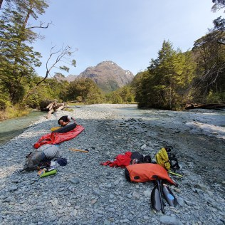 Getting ready for Packrafting action