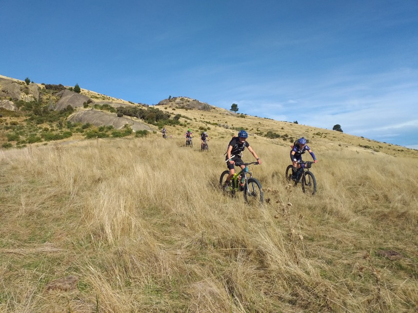 Cross country biking at its best